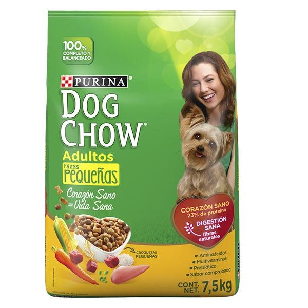Dog chow adulto razas pequeñas 7.5 Kg