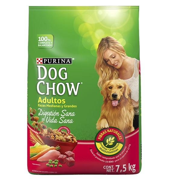 Dog chow medianas y grandes 7.5 Kg