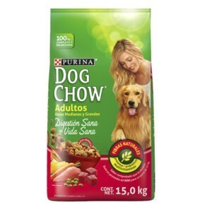 Dog chow razas medianas y grandes 15 KG