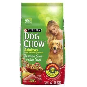 Dog chow adulto razas medianas y grandes 4 Kg